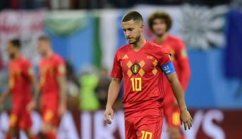 "Football: Eden Hazard juge les Belges ""plus forts"" qu'en 2018"