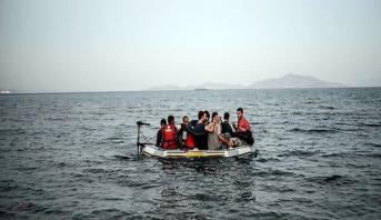 Iles grecques de la mer Egée: Plus de 1350 arrivées de migrants en un week-end