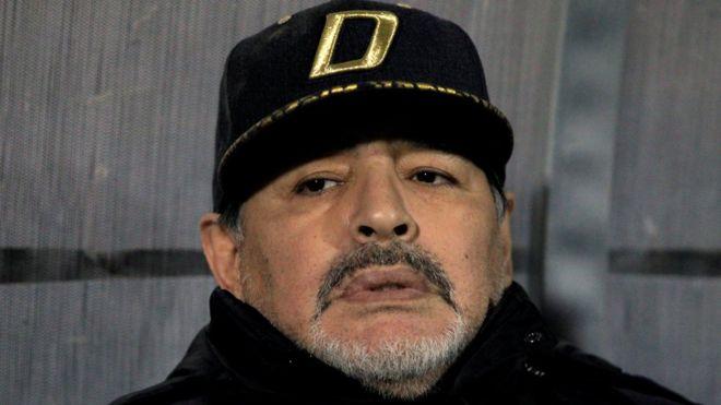 مارادونا يعرض تخفيض راتبه مع خيمناسيا بسبب فيروس كورونا