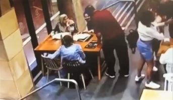 أستراليا .. شخص يعتدي على امرأة محجبة حامل دون سبب ظاهر (فيديو صادم)