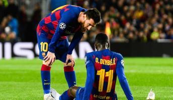 """Barcelone: Dembélé est """"plus tranquille"""" d'après Valverde"""