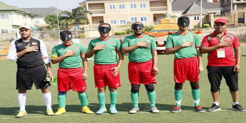 Le Maroc champion d'Afrique de Cecifoot
