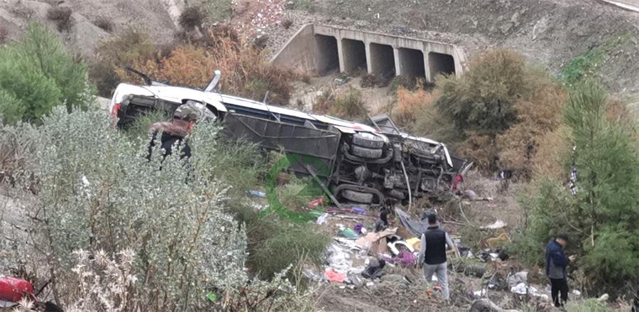 Accident de la route près de Taza: le bilan monte à 17 morts