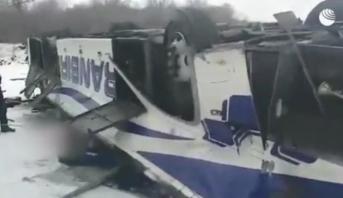 Accident de bus en Tunisie: 29 morts (nouveau bilan)