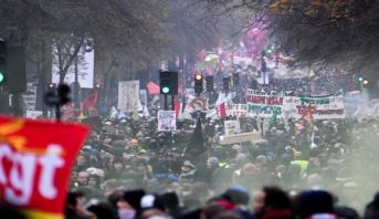 Paris: 250 000 personnes manifestent contre la réforme des retraites