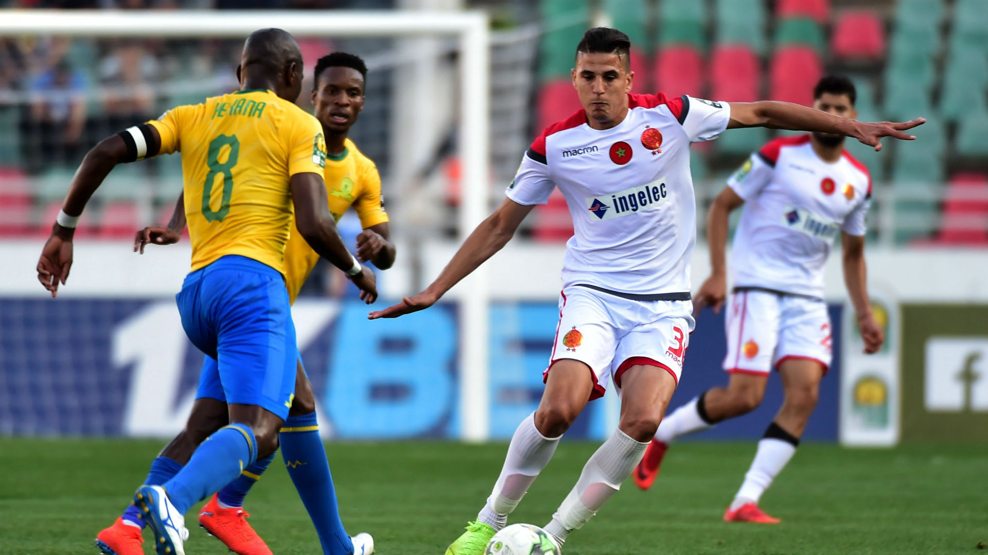 Ligue des Champions de la CAF: le Wac affrontera samedi Mamelodi Sundowns au stade Mohammed V