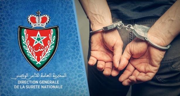 Arrestation à Marrakech d'un individu pour vol qualifié