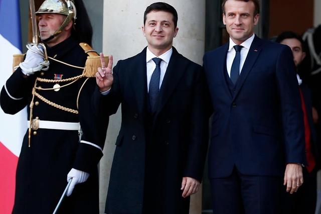 Poutine et Zelensky réunis à Paris pour un sommet sur la paix en Ukraine