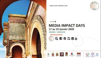 Les ''Media Impact Days'', du 17 au 19 janvier à Meknès
