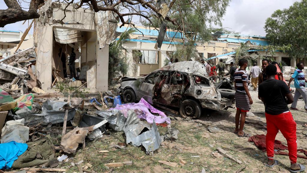 Attentat à la voiture piégée à Mogadiscio: 22 morts et plusieurs blessés