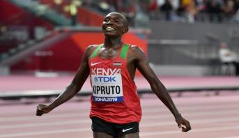 Athlétisme (10 km): Kipruto s'offre le record du monde