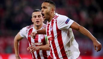 L'international marocain Youssef El Arabi meilleur buteur du Championnat grec