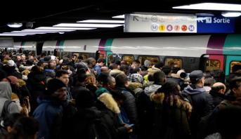 Retraites: la grève dans les transports publics entre dans son 40è jour