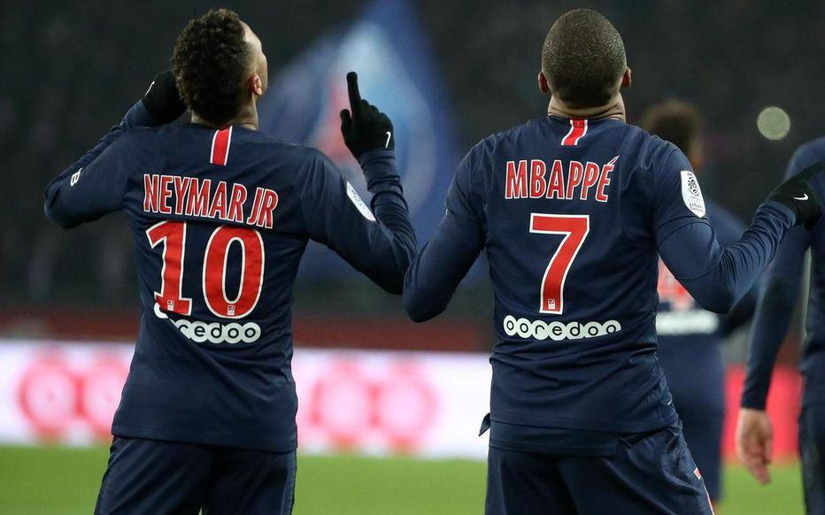Foot: Mbappé et Neymar joueurs les plus chers des clubs champions en Europe
