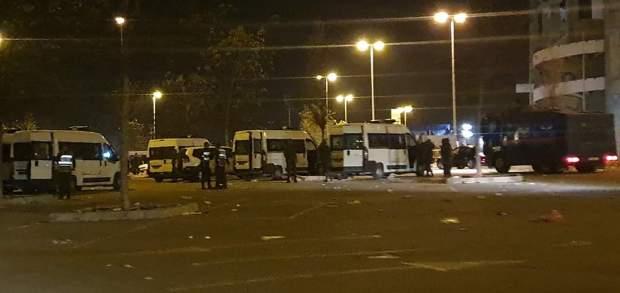 توقيف 13 شخصا للاشتباه في تورطهم في أعمال شغب على هامش مباراة اتحاد طنجة والرجاء