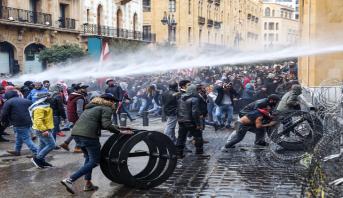 Liban: quelque 400 blessés dans les affrontements entre manifestants et forces de l'ordre