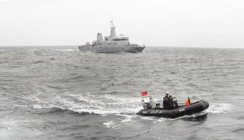 157 candidats à la migration irrégulière interceptés par la Marine Royale