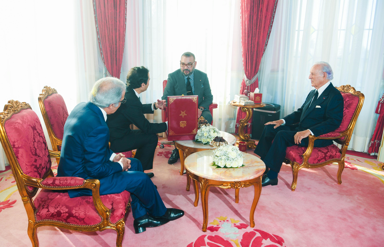 Le Roi Mohammed VI préside la cérémonie de présentation du programme intégré d'appui et de financement des entreprises