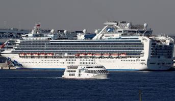 """فيروس """"كورونا"""".. ارتفاع عدد المصابين على متن """"السفينة المحتجزة"""""""