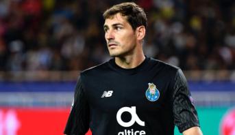 Football: le gardien de but Iker Casillas annonce sa retraite