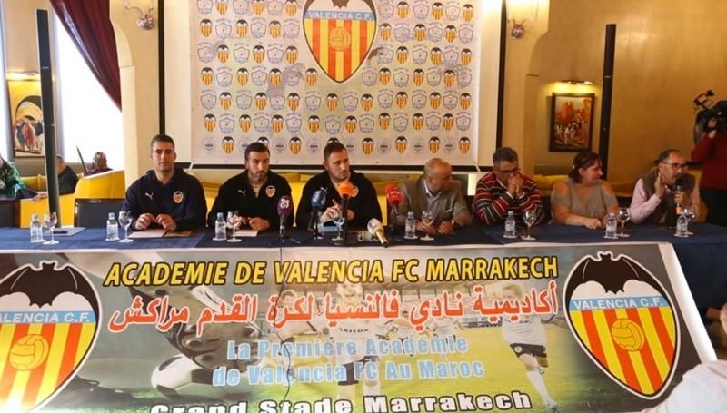 Valence CF choisit Marrakech pour la création de sa première académie de football en Afrique