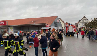 Allemagne : 52 blessés dont 18 enfants dans l'attaque du Carnaval à Volkmarsen