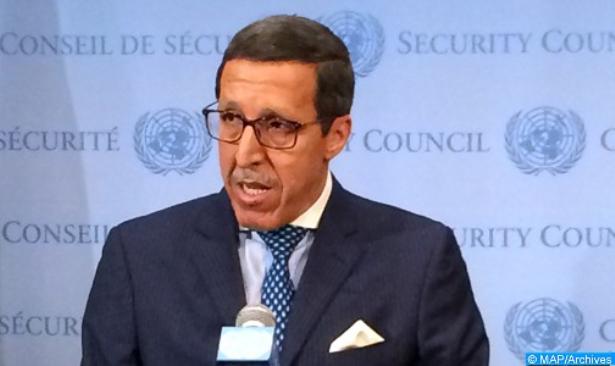 L'ambassadeur Hilale réunit plusieurs hautes personnalités onusiennes autour d'un panel sur les déplacés internes