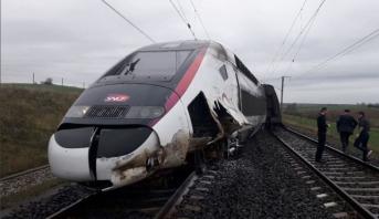 Déraillement d'un TGV en France: 21 personnes blessées (nouveau bilan)