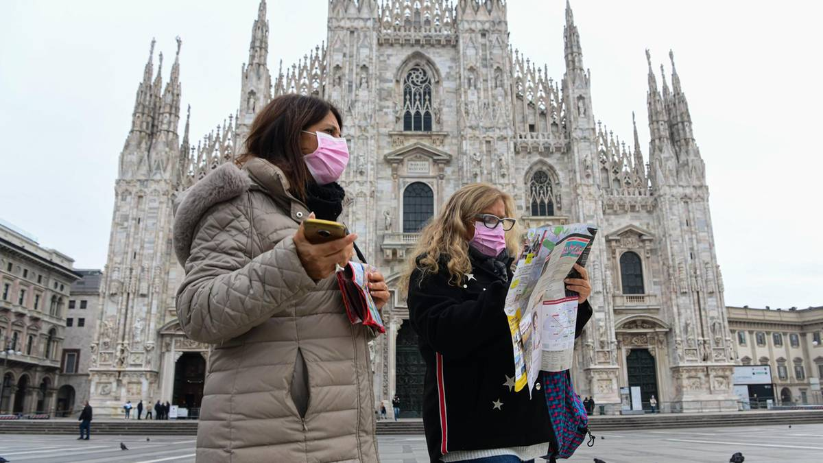 إيطاليا تقرر إغلاق جميع المتاجر والمكاتب باستثناء محلات بيع الأغذية و الصيدليات