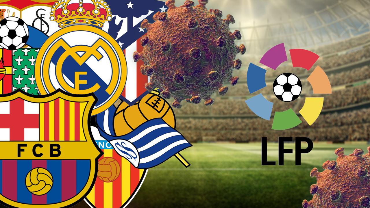 فيروس كورونا يلقي بظلاله على منافسات كرة القدم الاسبانية