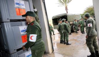 كوفيد-19 .. مستشفى محمد الخامس بآسفي يتعزز بطاقم طبي عسكري