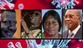 مشاهير السياسة والفن والرياضة ضحايا لكورونا بالقارة السمراء