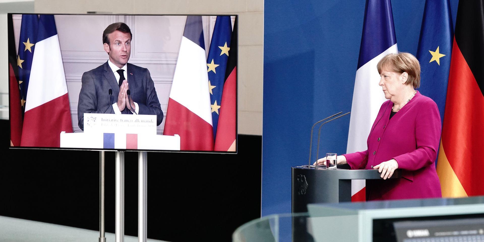 برلين وباريس تقترحان خطة نهوض بـ 500 مليار يورو لمواجهة تداعيات كورونا
