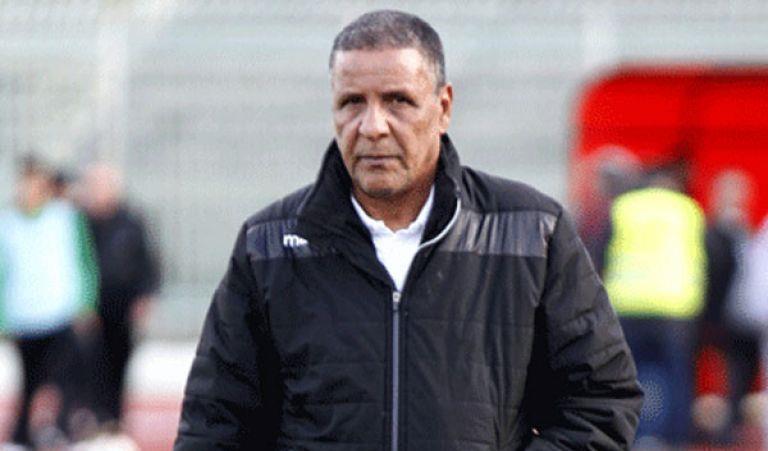 نادي الدفاع الحسني الجديدي يفك رسميا ارتباطه بالمدرب عمراني