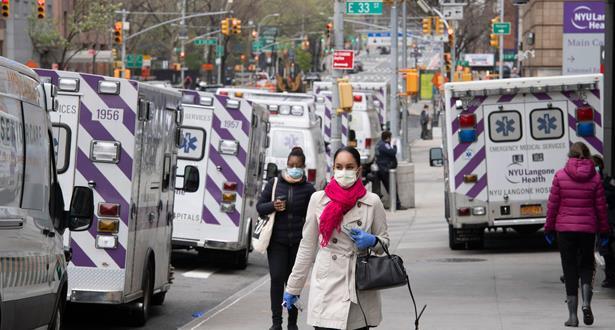 كوفيد-19...نيويورك تسجل أدنى حصيلة يومية للوفيات