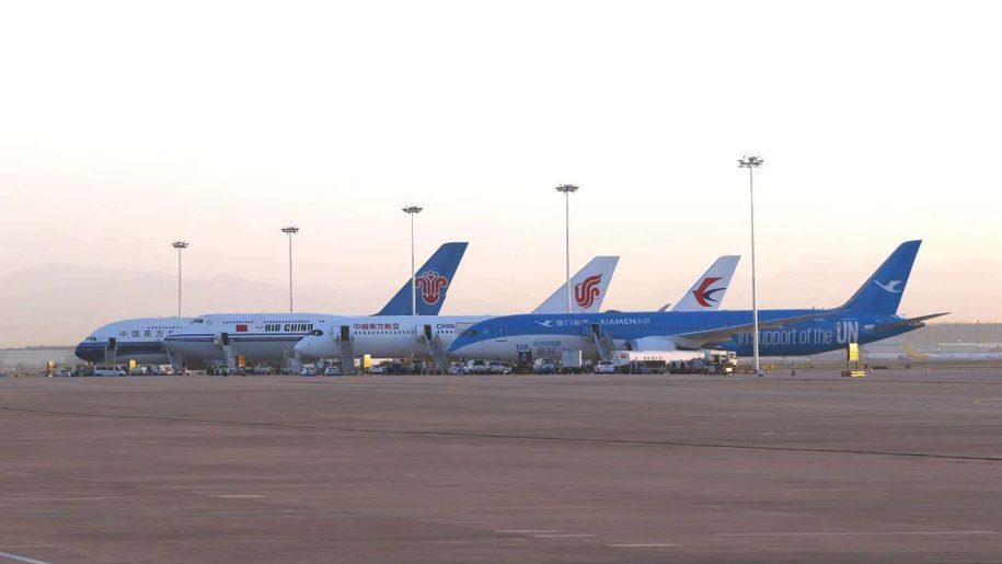 الصين تسمح لشركات الطيران الأجنبية بتسيير رحلة واحدة أسبوعياً