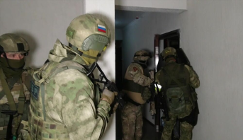 """روسيا : اعتقال خمسة أشخاص ينتمون الى تنظيم """"إرهابي متطرف"""""""