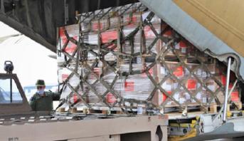 Distribution d'aides alimentaires et médicales marocaines aux victimes de l'explosion du port de Beyrouth