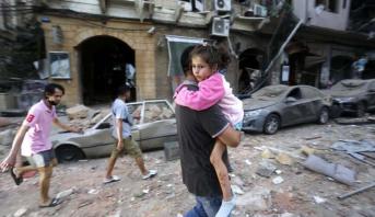 منظمة اليونسيف: انفجار بيروت شرد نحو 100 ألف طفل