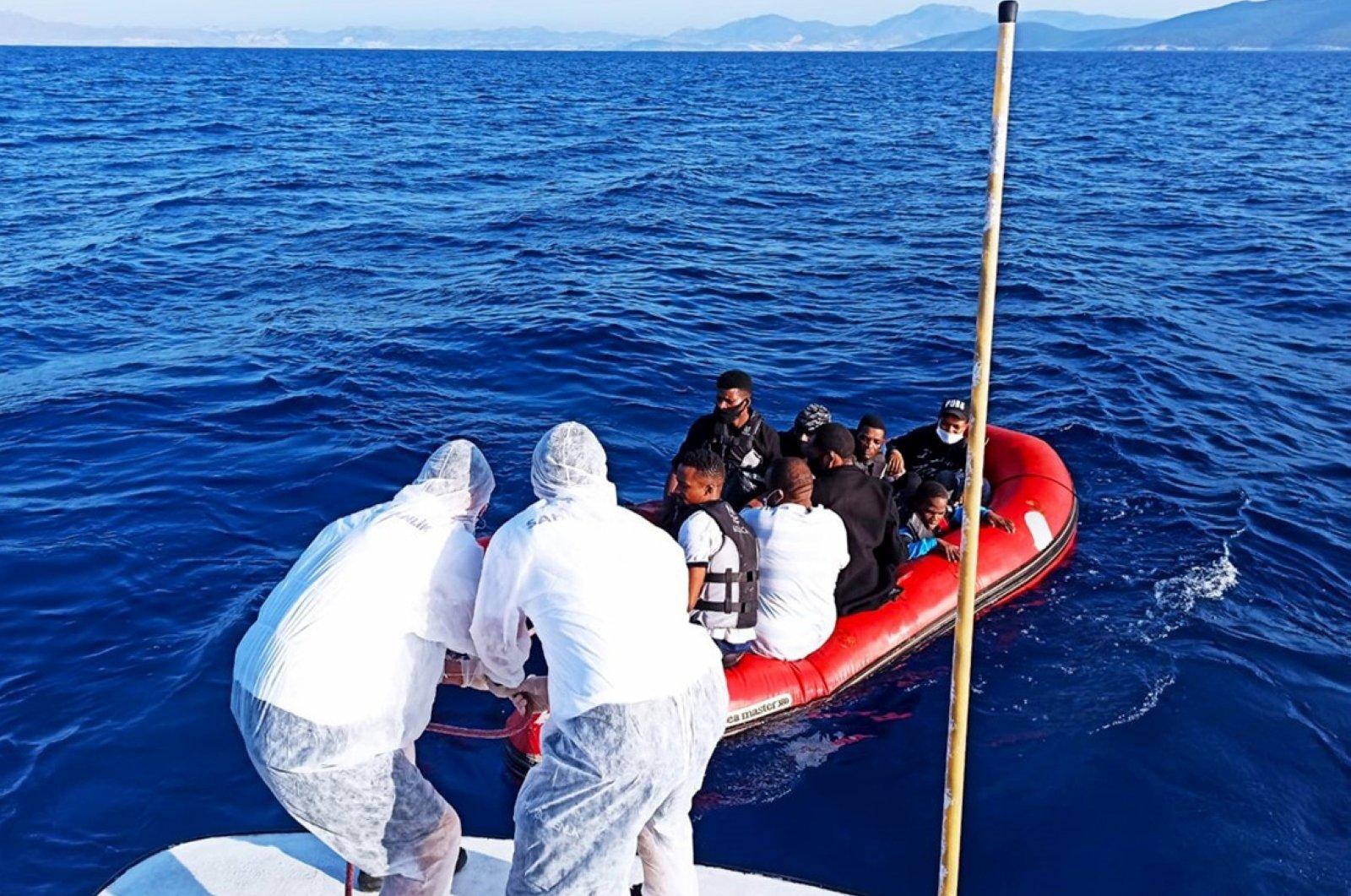 اليونان تعلن عن إصابة مجموعة من المهاجرين غير القانونيين بالفيروس التاجي
