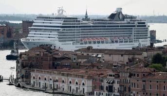 إيطاليا : انطلاق أول سفينة سياحية في الرحلة عبر البحر المتوسط