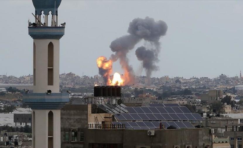 الاتحاد الافريقي يدين بشدة القصف الإسرائيلي لغزة والاعتداءت على المصلين في المسجد الاقصى