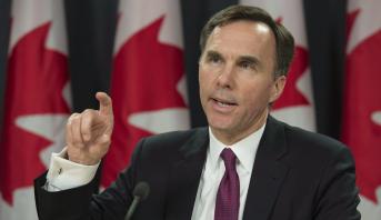 وزير المالية الكندي بيل مورنو يعلن استقالته من منصبه