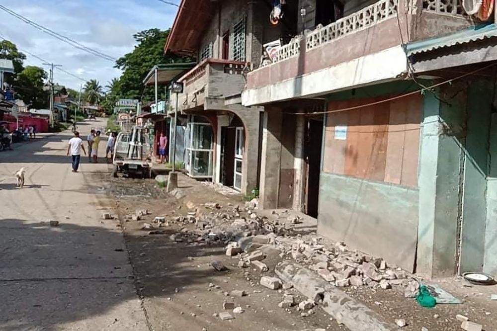 زلزال بقوة 6,7 درجات يضرب الفيلبين