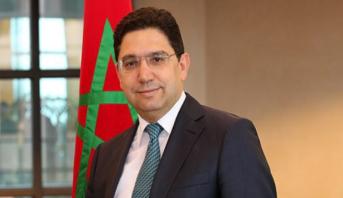 Bourita s'entretient à Rome avec le ministre italien des Affaires étrangères