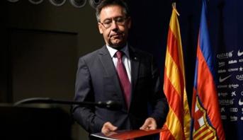 بارتوميو يوضح حقيقة عزمه الاستقالة من رئاسة نادي برشلونة