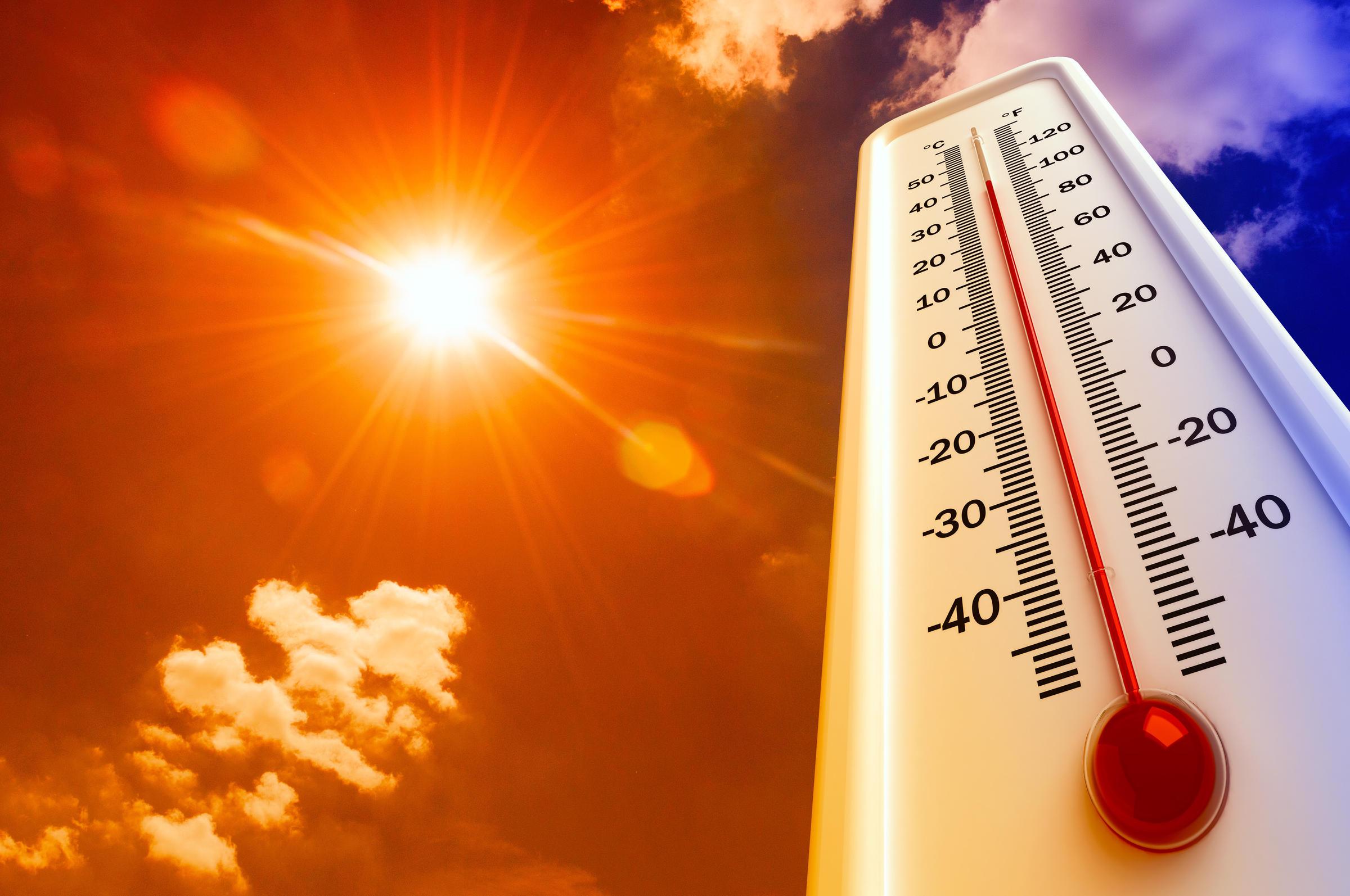 درجات الحرارة الدنيا والعليا المرتقبة الجمعة