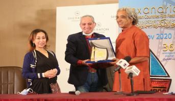تكريم المخرج المغربي داود ولاد السيد على هامش مهرجان الإسكندرية السينمائي لدول البحر المتوسط في دورته الـ 36