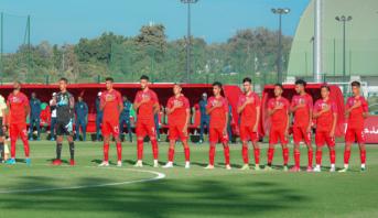 Amical: la sélection marocaine U20 bat (1-0) le Burkina Faso