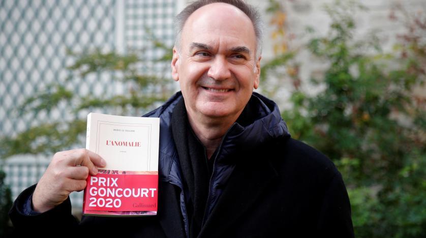 """Hervé Le Tellier, lauréat du Goncourt 2020 pour """"L'Anomalie"""""""